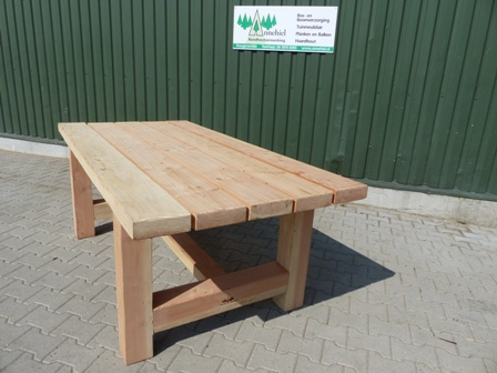 Buitentafel hout